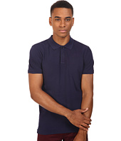 Scotch & Soda - Classic Garment Dyed Polo in Cotton Pique Quality