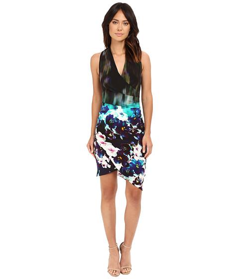 Nicole Miller Misty Floral Stefanie Dress