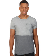 Scotch & Soda - Oil-Washed Crew Neck Tee in Jersey Quality with Chest Pocket