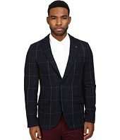 Scotch & Soda - Classic Blazer with Peak Lapel in Wool Quality