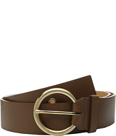 MICHAEL Michael Kors - 50mm Pebble Leather Belt with Grommet Details and 7 Holes