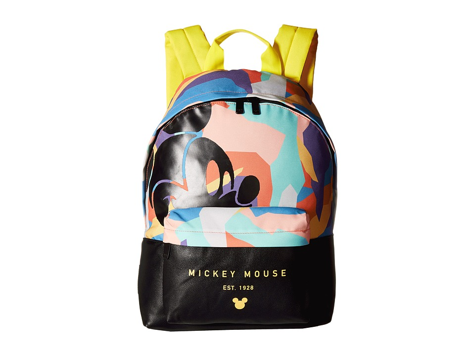 Neff - Abstract Mickey Professor Backpack (Multi) Backpack Bags