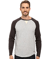 True Grit - Vintage Raglan Long Sleeve Tee with Stitch and Trim Detail