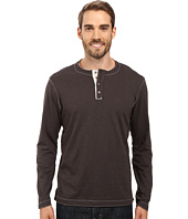 True Grit - Soft Slub Long Sleeve Vintage Crew Henley