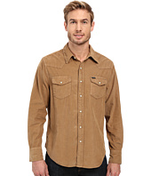 True Grit - Jackson Cord Long Sleeve Two-Pocket Western Shirt