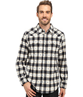True Grit - Fire Mountain Icons Long Sleeve Two-Pocket Western Shirt with Contrast Chambray