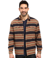 True Grit - Summit Baja Stripe Shirt Jacket with Sherpa Lining