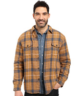 True Grit - Summit Baja Plaid Shirt Jacket with Sherpa Lining
