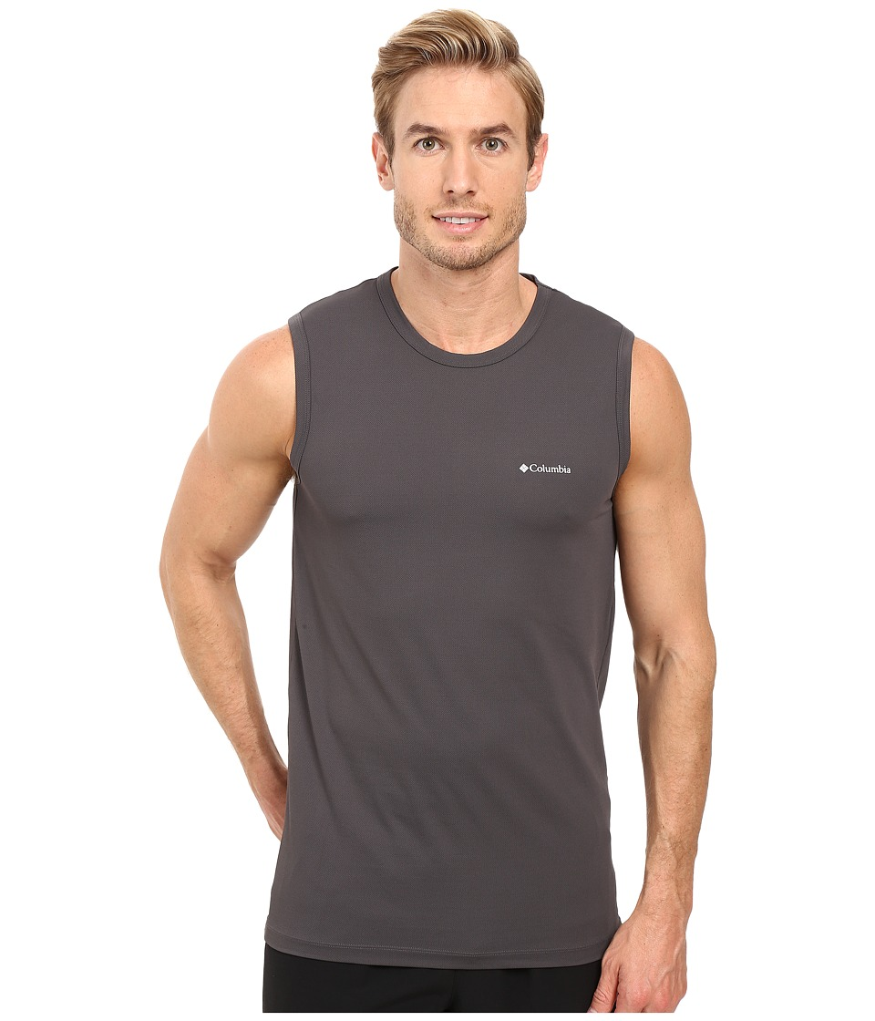 Columbia Performance Mesh Muscle T-Shirt (Forged Iron) Men