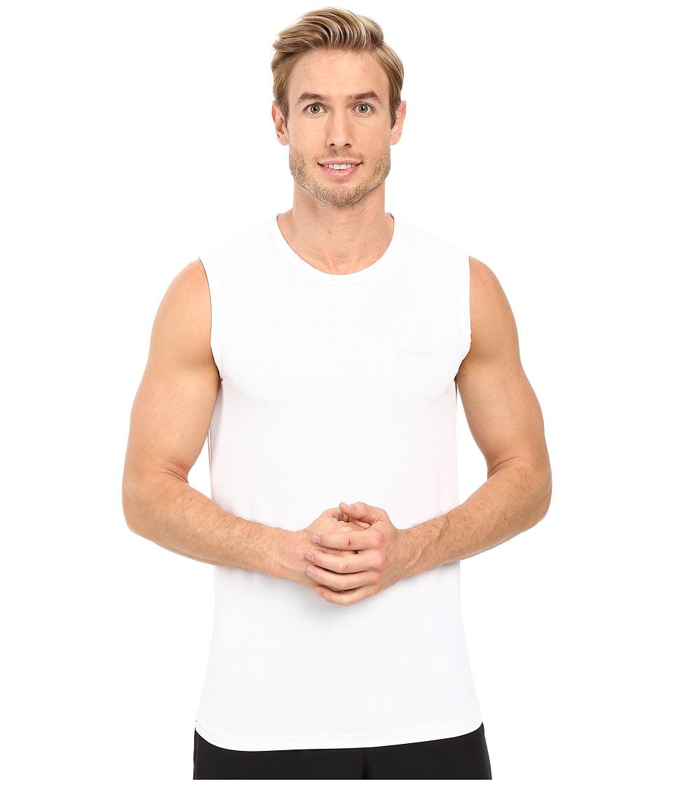Columbia - Performance Mesh Muscle T-Shirt (White) Men