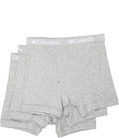 Columbia - 100% Cotton Boxer Briefs 3-Pack