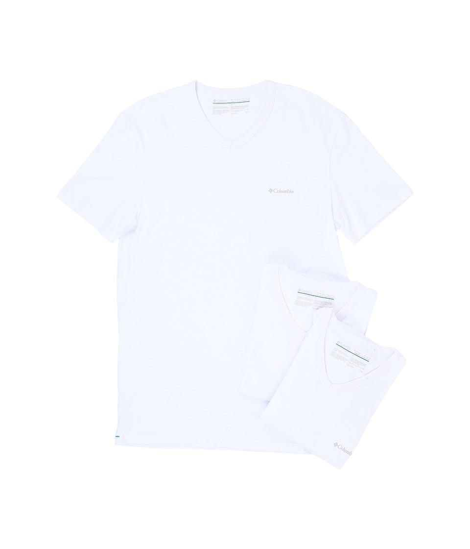 Columbia - 100% Cotton V-Neck T-Shirt 3