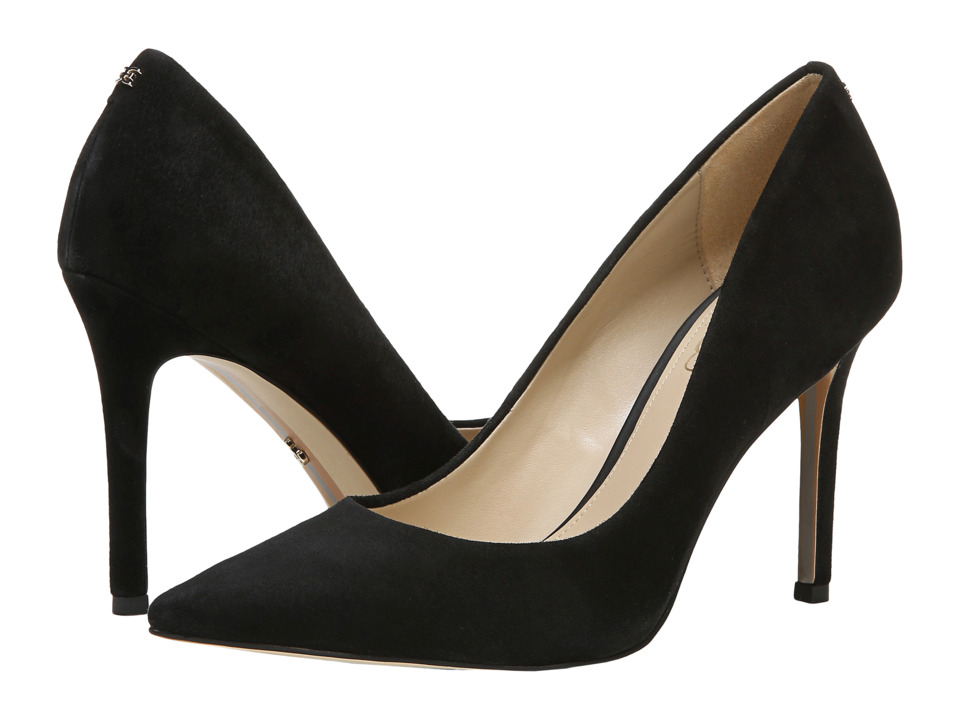 Sam Edelman Hazel (Black Kid Suede Leather) Women's Shoes