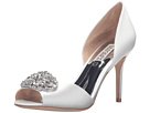 Badgley Mischka - Dana (White Satin)