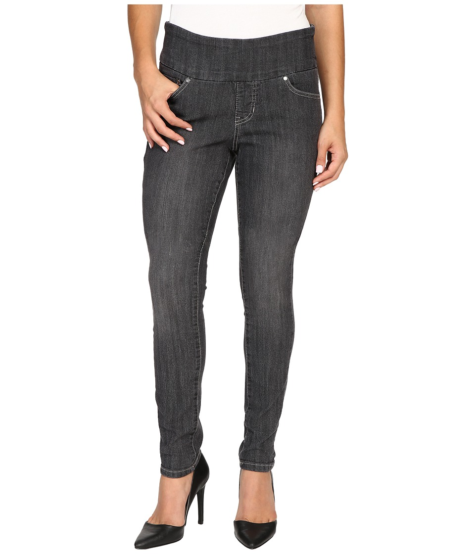 Jag Jeans Petite - Petite Nora Pull-On Skinny in Comfort Denim in Thunder Grey