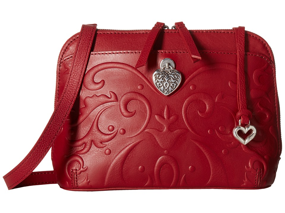 Brighton - Alexa Domed Organizer (Lipstick) Handbags