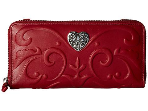 Brighton Cordoba Large Zip Wallet - Lipstick