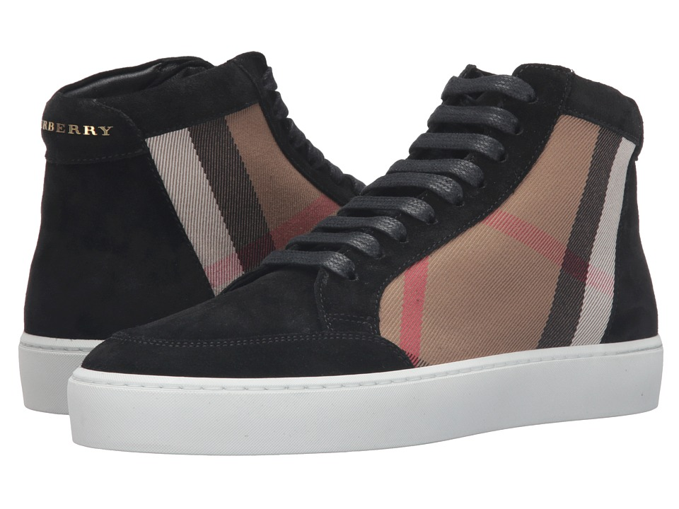 Burberrys Salmond (Black 2) Women's Lace up casual Shoes