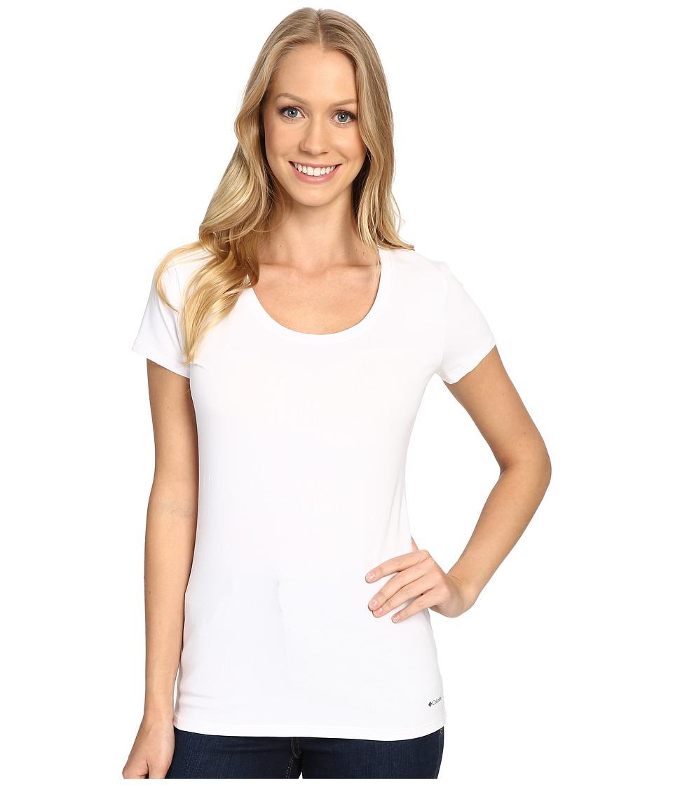 Columbia - Cotton Stretch T-Shirt (White) Women