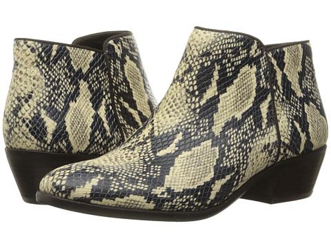 Sam Edelman Petty - Modern Ivory Rock Snake Print Leather