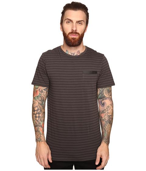 Tavik Tracer Short Sleeve Knit - Raven/Black
