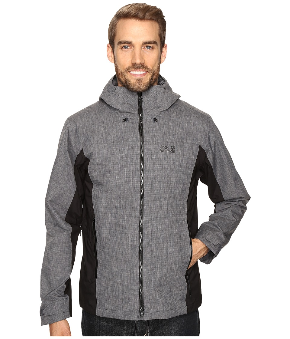 Jack Wolfskin Icy Arctic Jacket (Ebony) Men