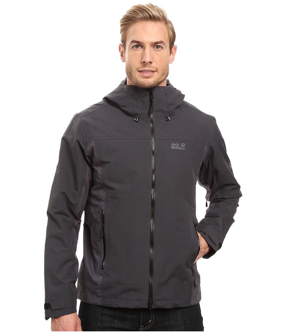 Jack Wolfskin Icy Arctic Jacket (Black) Men