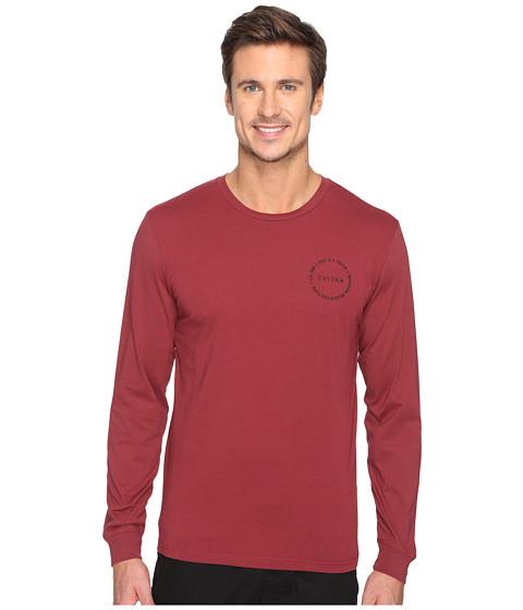 Tavik Crew Long Sleeve T-Shirt - Oxblood