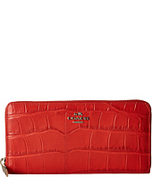 COACH - Embossed Croc Acc Zip