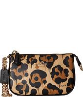 COACH - Leopard Ocelot Print Leather Nolita Wristlet 15