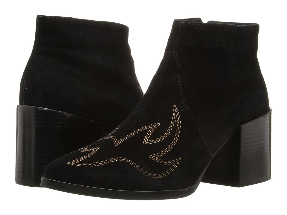 Matisse - Vox (Black Leather Suede) Women