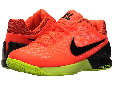 Nike Zoom Cage 2 - Hyper Orange/Black/Lava Glow/Volt