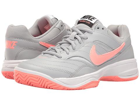 Nike Court Lite - Wolf Grey/Lava Glow/Black