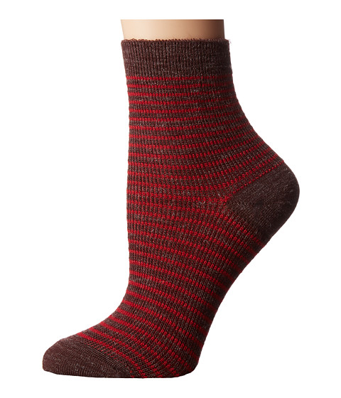 Richer Poorer Skimmer Ankle Wool - Brown/Red