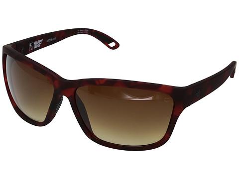 Spy Optic Allure - Soft Matte Red Tort/Happy Bronze Fade