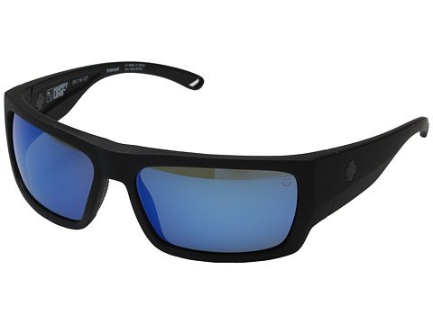 Spy Optic Rover - Soft Matte Black/Happy Gray Green Polar w/ Dark Blue Spectra
