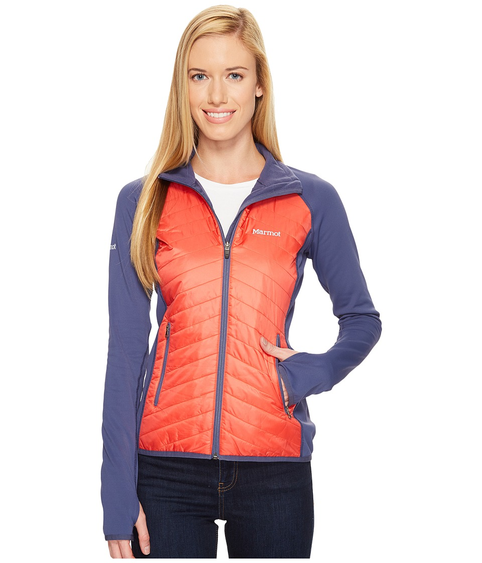 Marmot Variant Jacket (Scarlet Red/Monsoon) Women