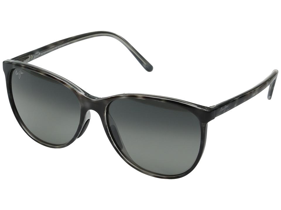 Maui Jim - Ocean (Grey Tortoise Stripe/Neutral Grey) Fashion Sunglasses