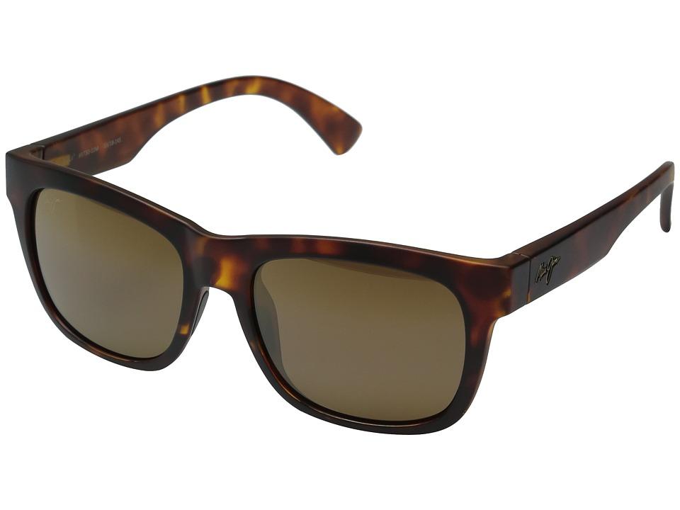 Maui Jim - Snapback (Matte Tortoise) Fashion Sunglasses
