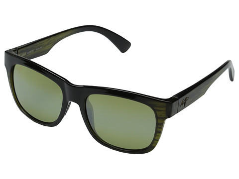 Maui Jim Snapback - Green Stripe