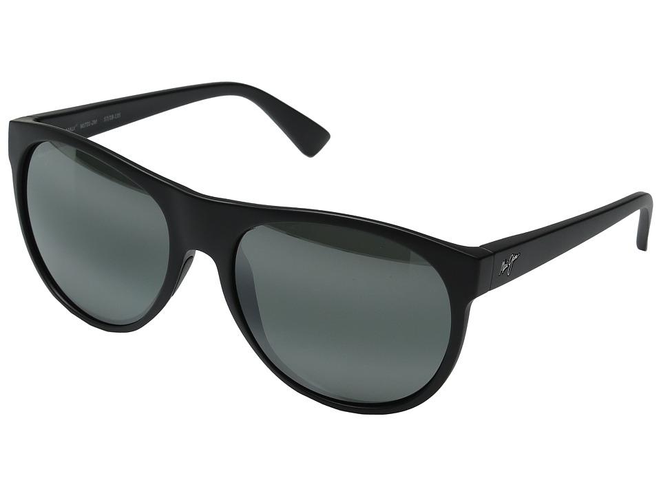 Maui Jim - Rising Sun (Matte Black) Fashion Sunglasses