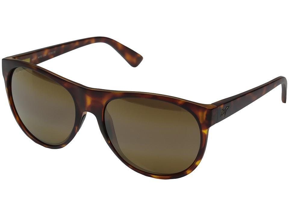 Maui Jim Rising Sun (Matte Tortoise) Fashion Sunglasses