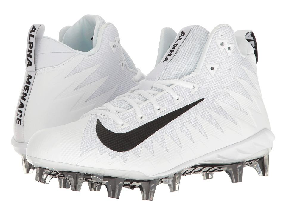 Nike Alpha Menace Pro Mid (White/Black) Men