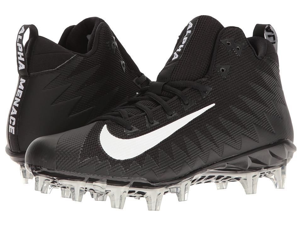 Nike Alpha Menace Pro Mid (Black/White) Men