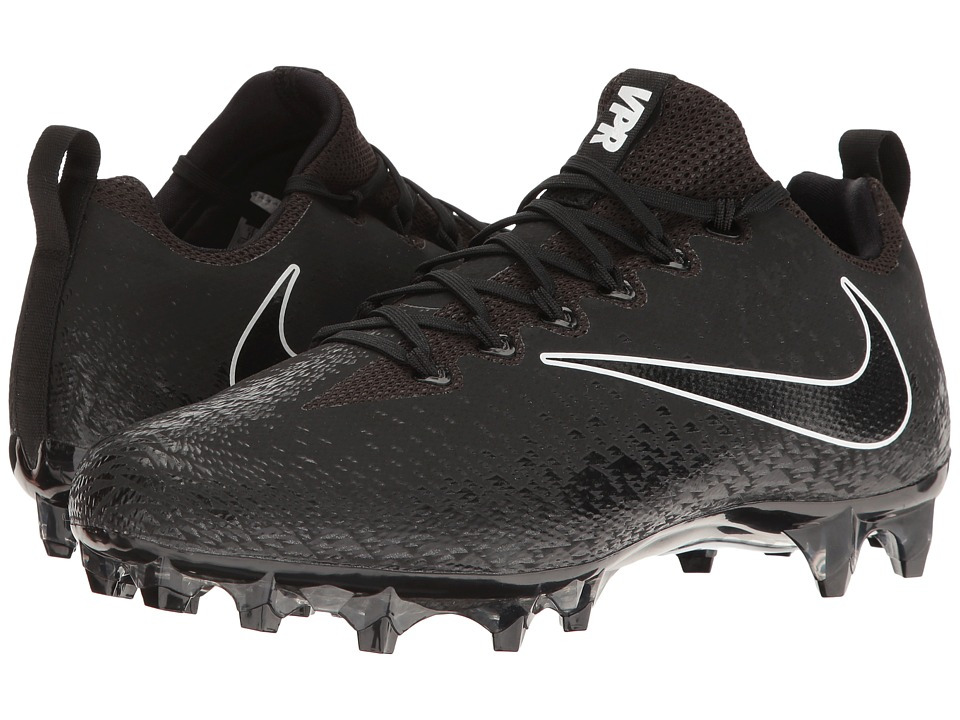 Nike - Vapor Untouchable Pro (Black/Black/Metallic Silver/White) Mens Cleated Shoes