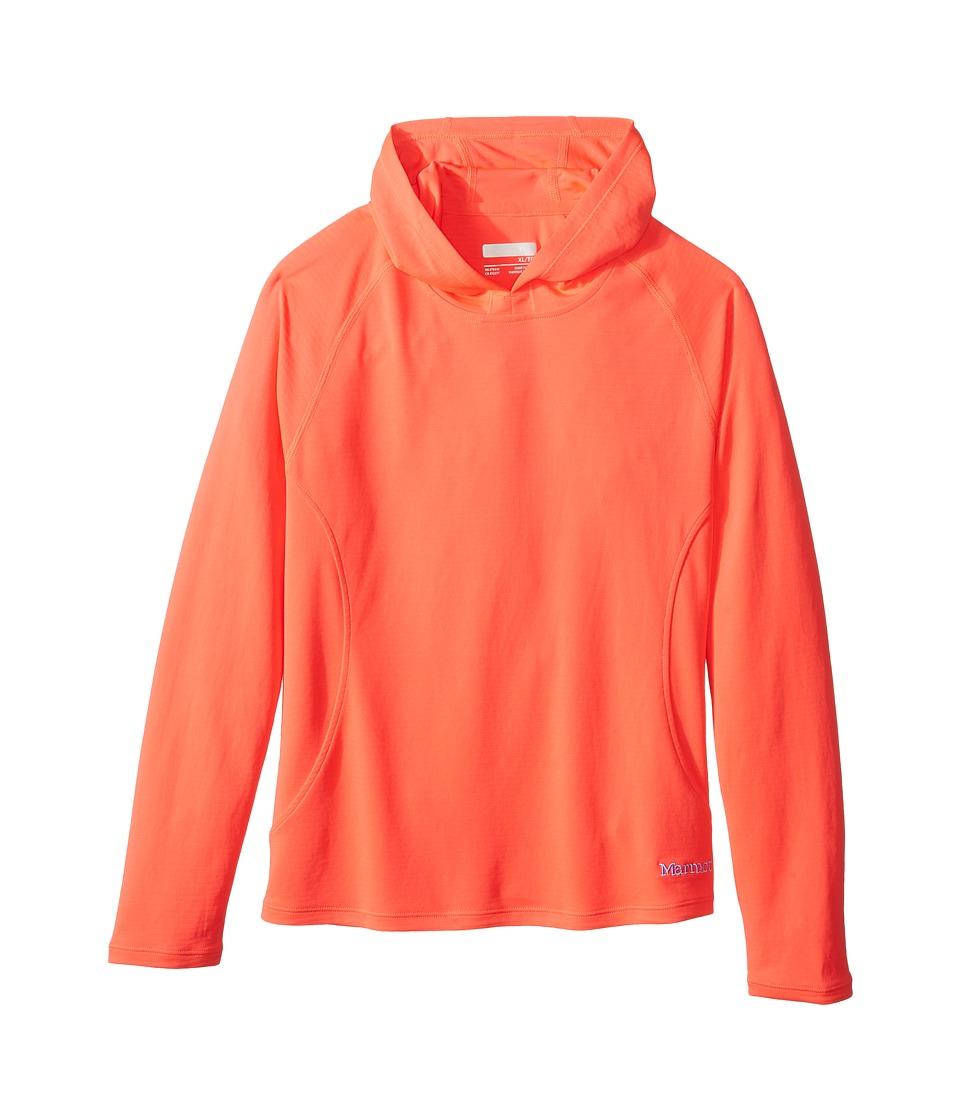 Marmot Kids - Kylie Hoody (Little Kids/Big Kids) (Bright Pink) Girls Sweatshirt