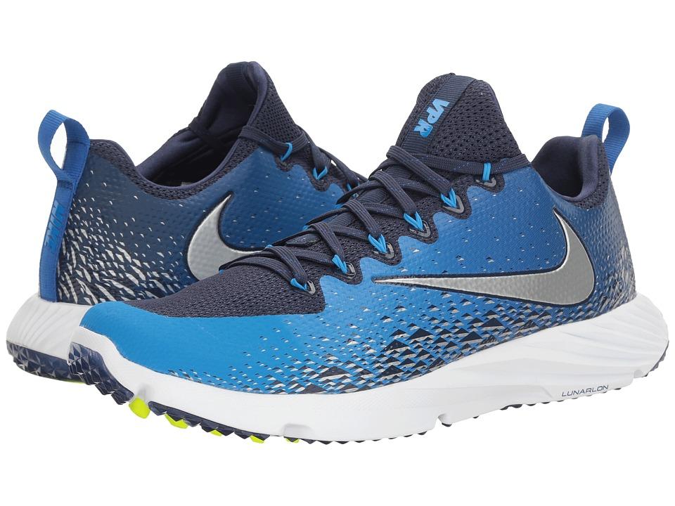 Nike Vapor Speed Turf (Midnight Navy/Metallic Silver/Photo Blue) Men