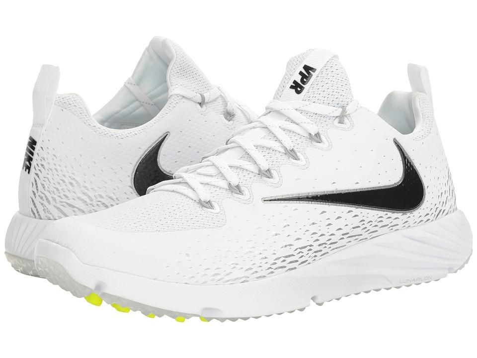 Nike Vapor Speed Turf (White/Black/Metallic Silver) Men