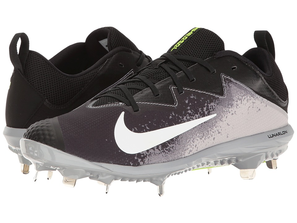 Nike - Vapor Ultrafly Pro (Black/White/Wolf Grey/Cool Grey) Mens Cleated Shoes