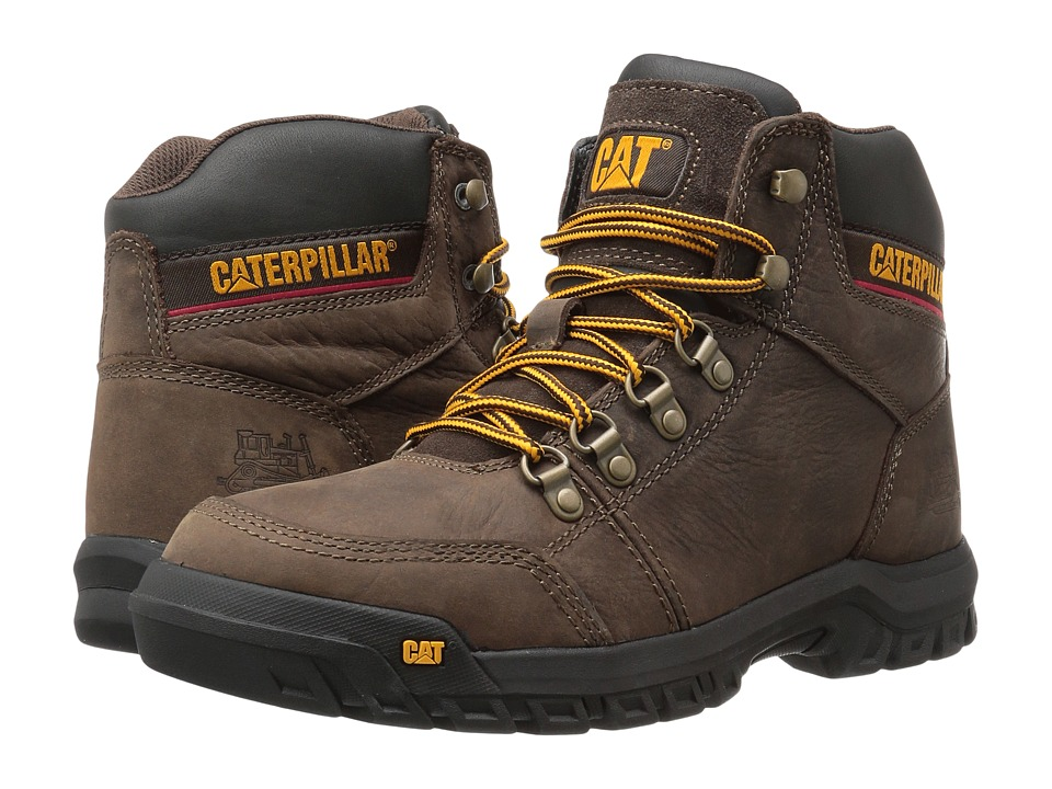 Caterpillar Outline (Seal Brown) Men
